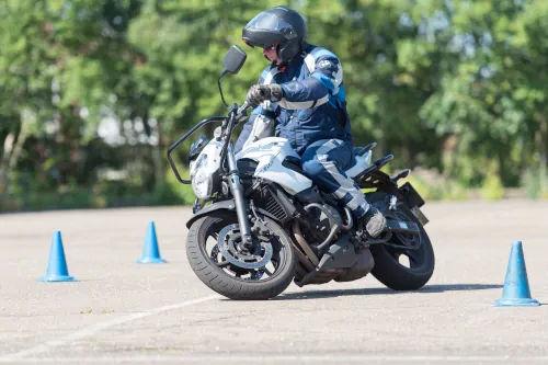 Motorrijbewijspoint Leusden motor rijtest