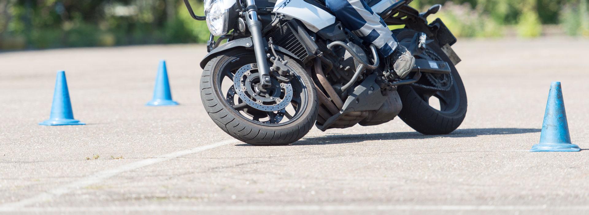 Motorrijbewijspoint Leusden rijtest